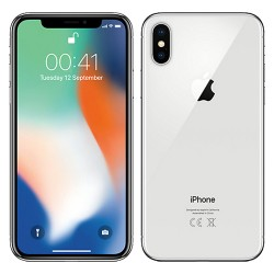 Apple iPhone X 64GB Silver...